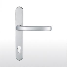 Lever handles for framed doors