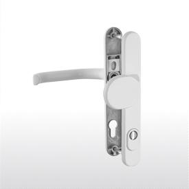 35 mm mit Schrauben 4 Fenstergriff T/ürgriff Aluminium RAL 9016 wei/ß