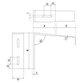 zubeh r aluminium fensterbank. Black Bedroom Furniture Sets. Home Design Ideas
